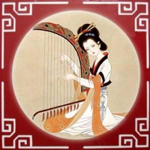 Chinese music - konghou