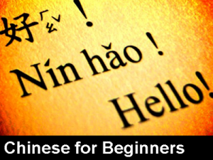 Chinese lessons - Chinese for beginners