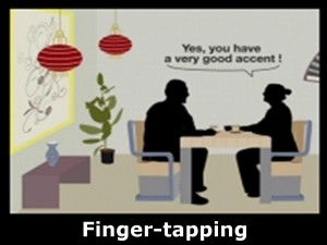 finger-tapping
